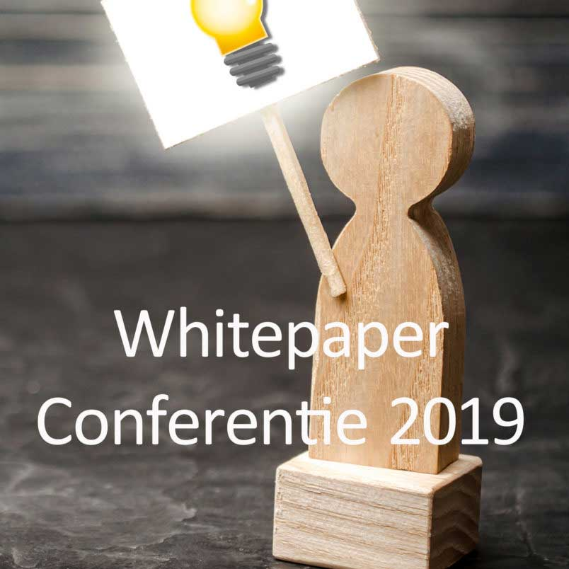 Cover Whitepaper Conference 2019