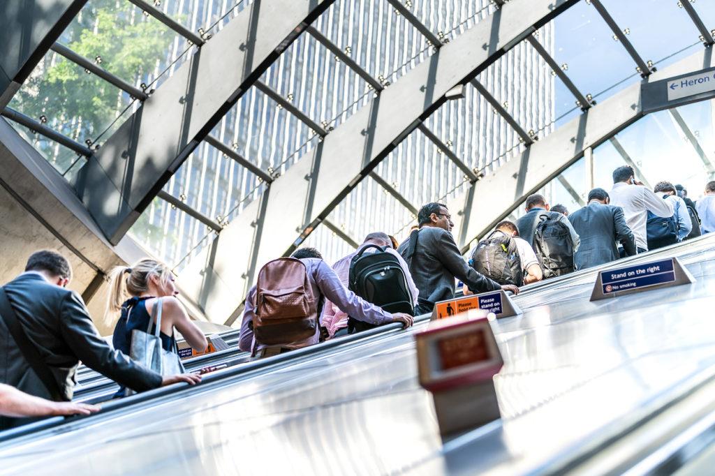 EARS - People on escalator