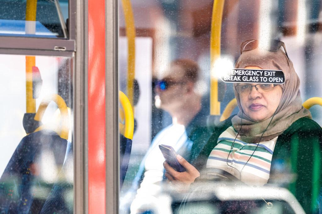 EARS - People on bus