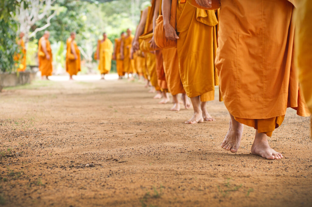 EARS - Buddhists in robes