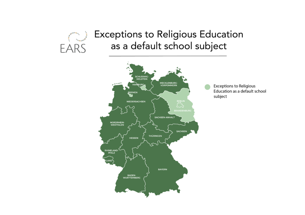 Exceptions to religious education Germany